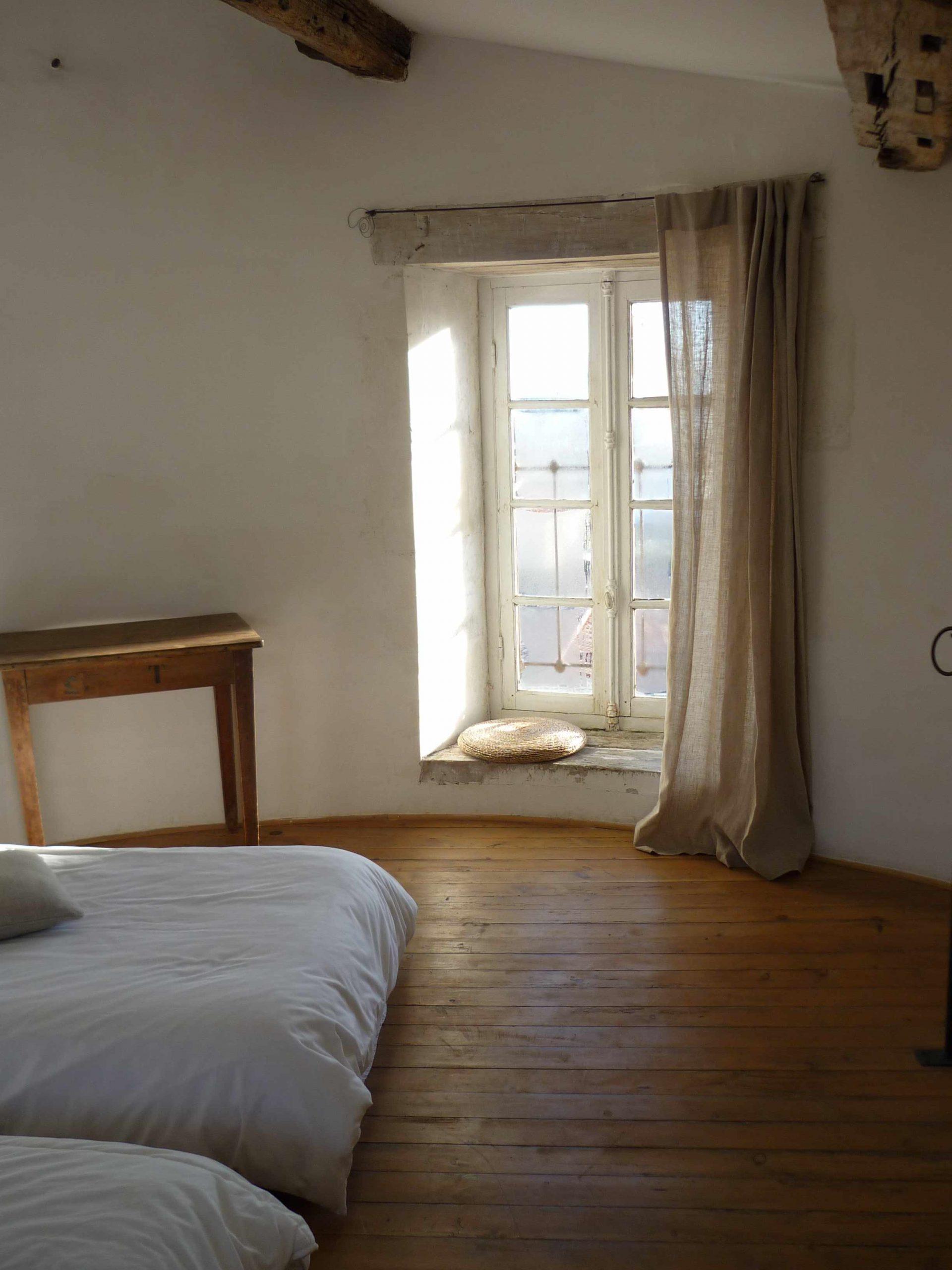 Chambre du 3-ème étage du moulin