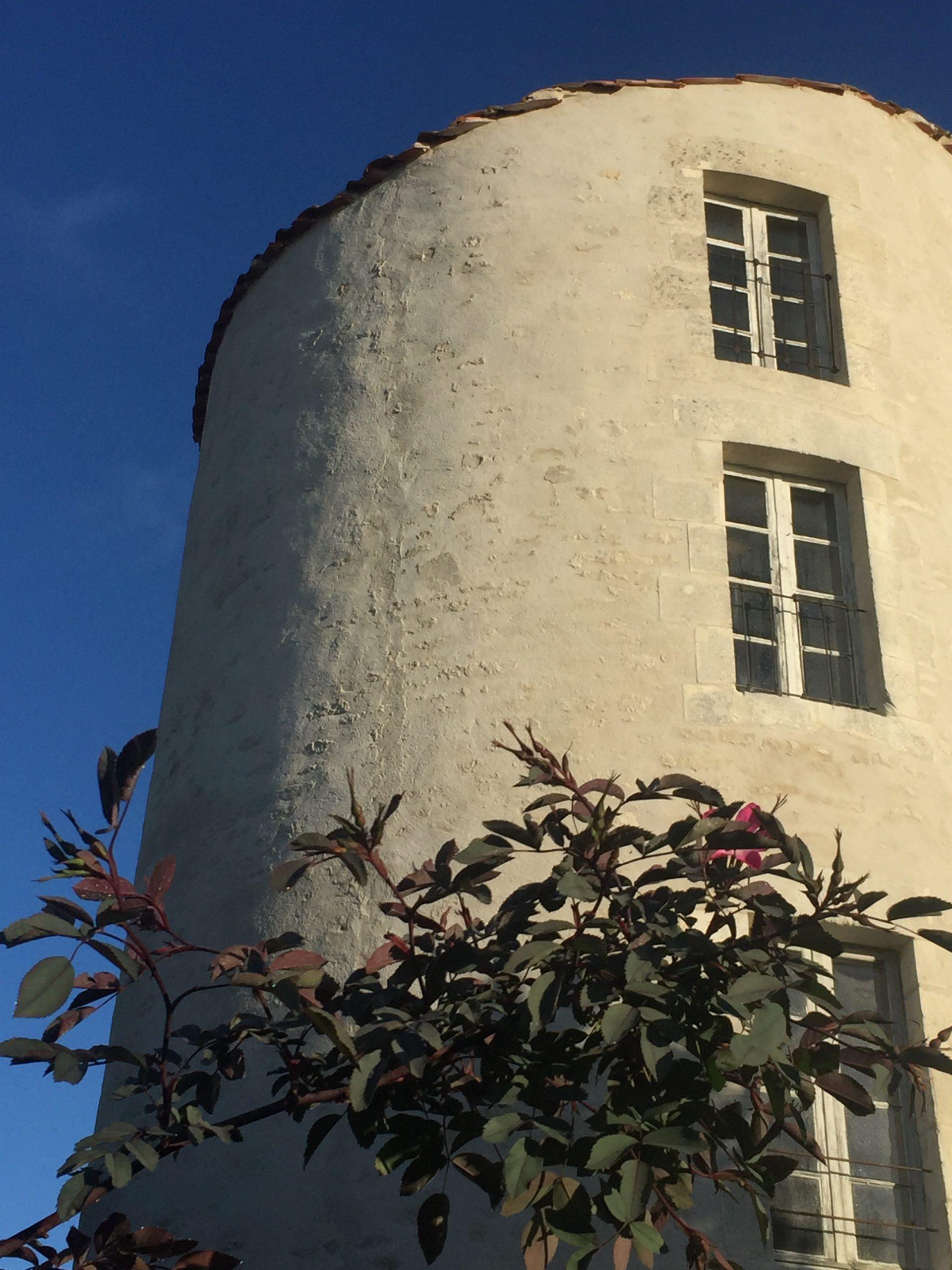Vue sur le moulin