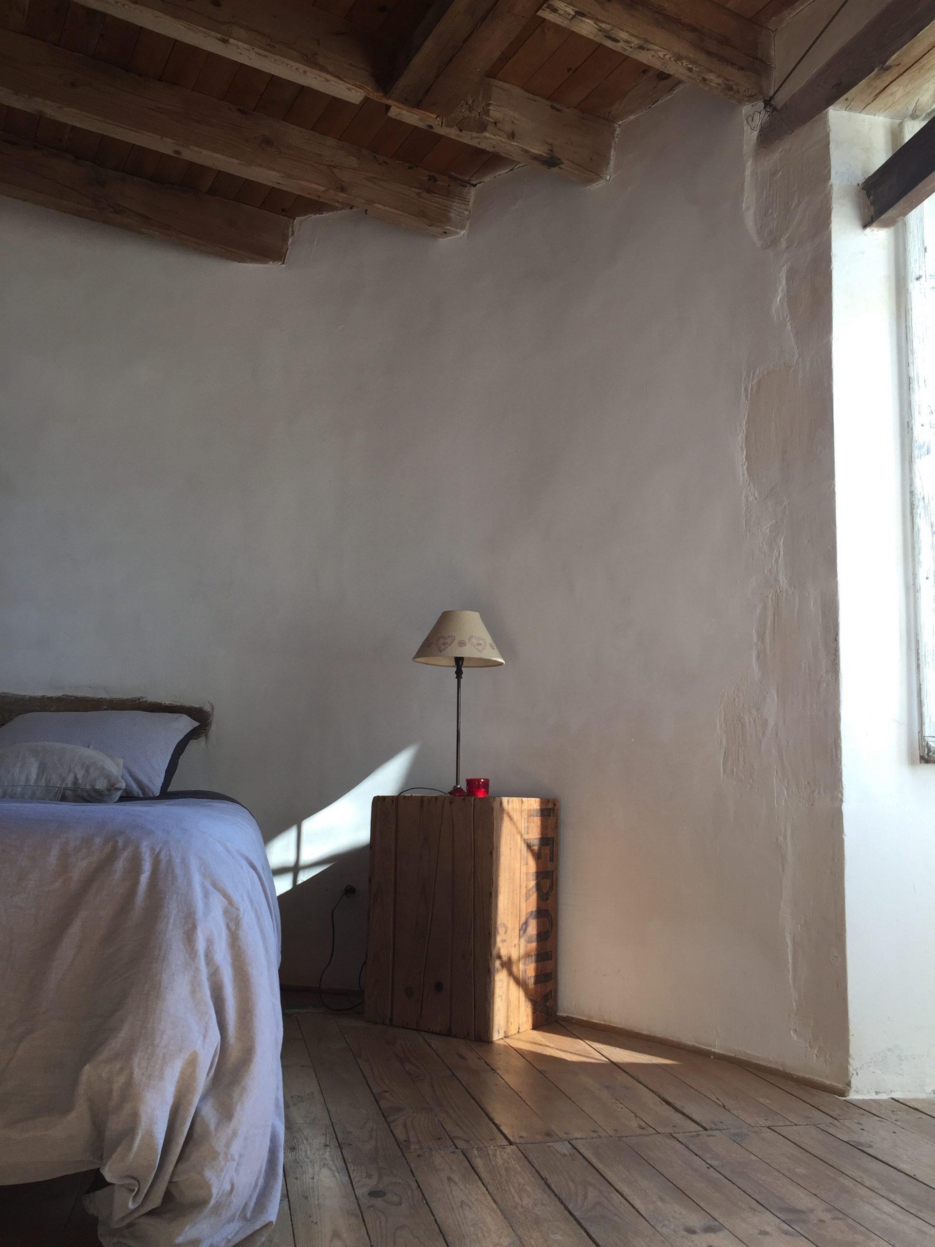 Chambre du 2-ème étage du moulin