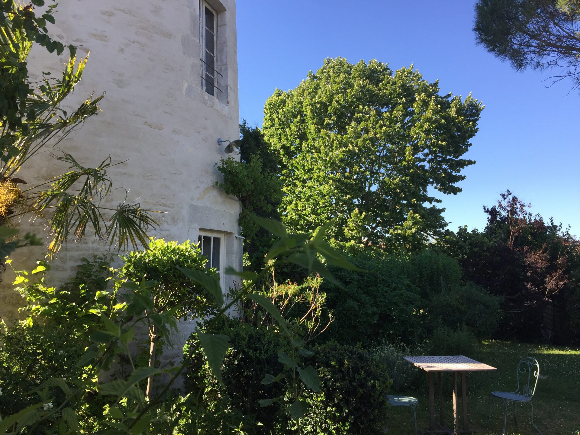 Le moulin et son jardin