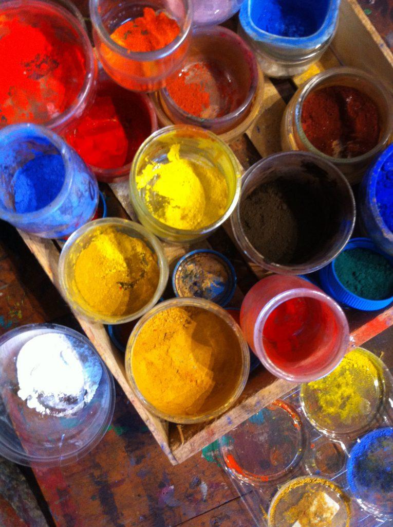 Quelque pigments